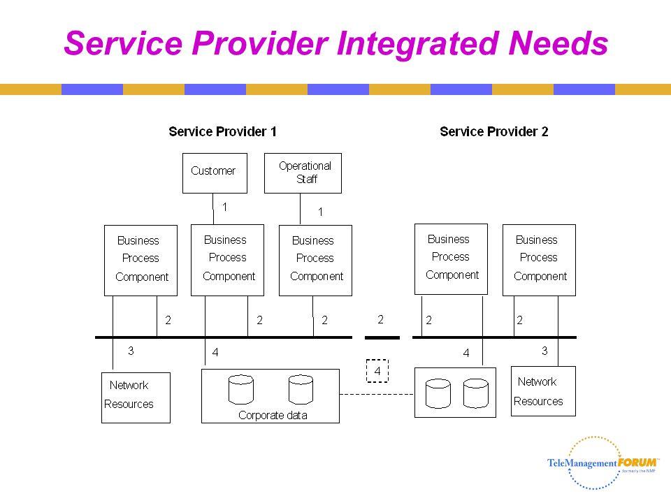 Service Provider Integrated Needs