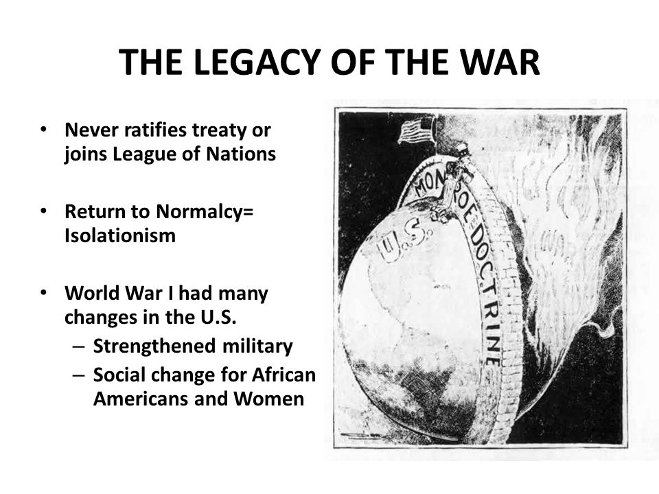 Why did the Senate reject the Treaty? US would have to join the League of Nations What happens if the League needs to use military force? Could be dra