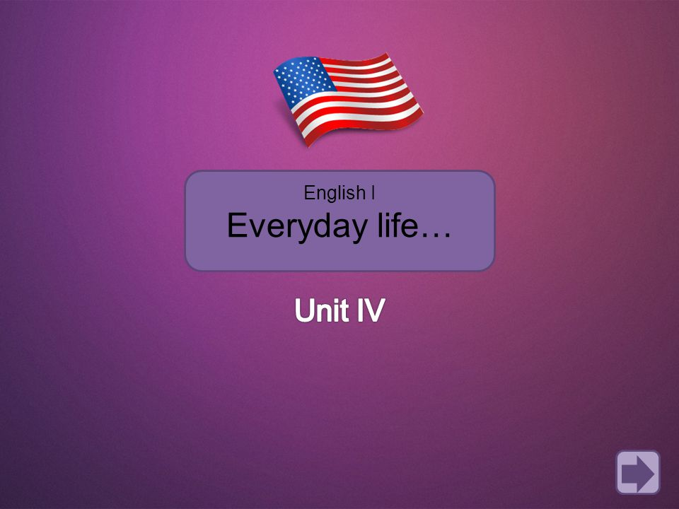 English I Everyday life…