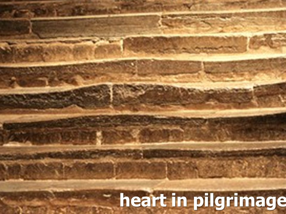 heart in pilgrimage,