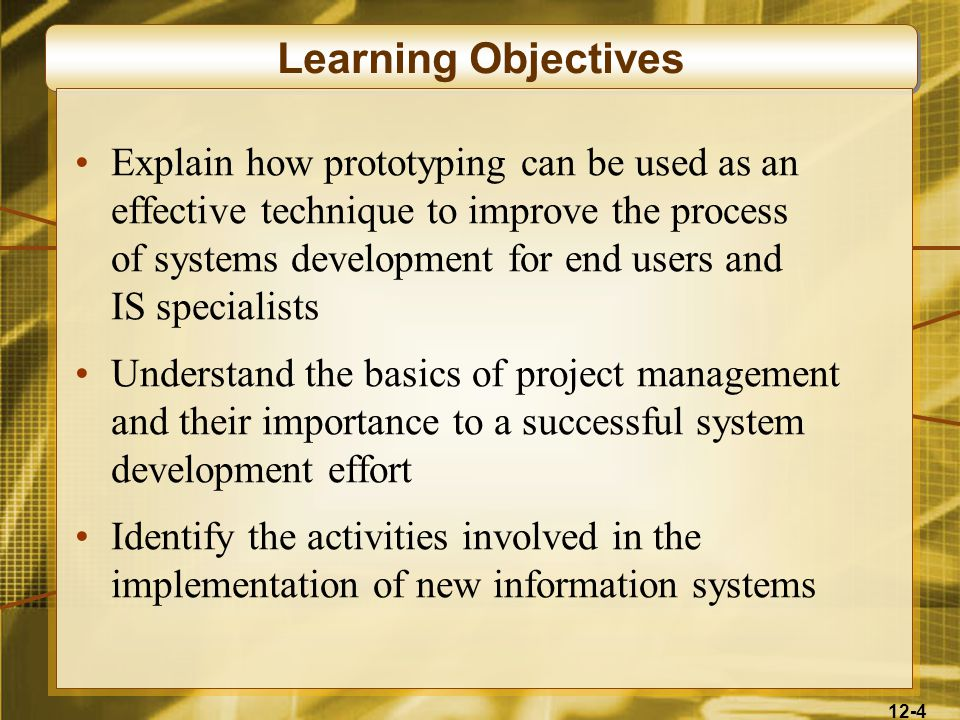 12-5 Learning Objectives Compare and contrast the four basic system conversation strategies Describe several evaluation factors that should be considered in evaluating the acquisition of hardware, software, and IS services