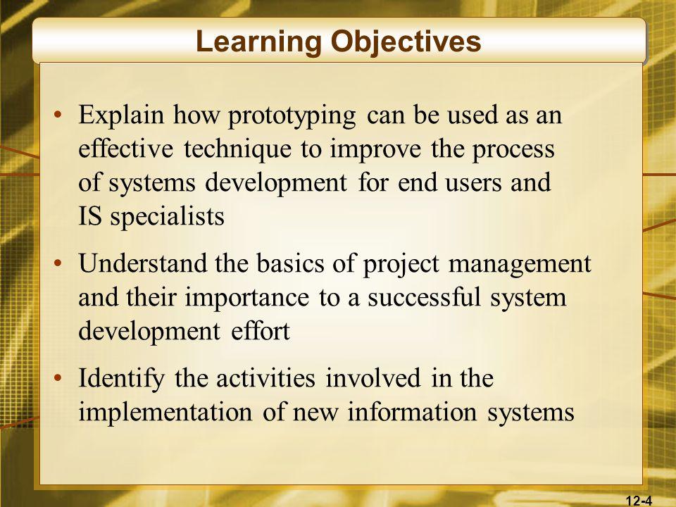 12-15 Systems Development Lifecycle (SDLC)