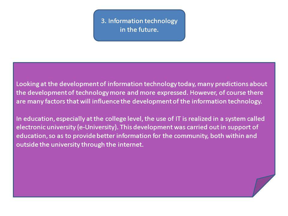 Impact of Positive, Negative Technology Development