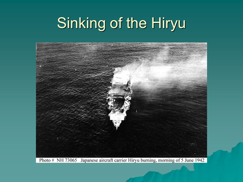Sinking of the Hiryu