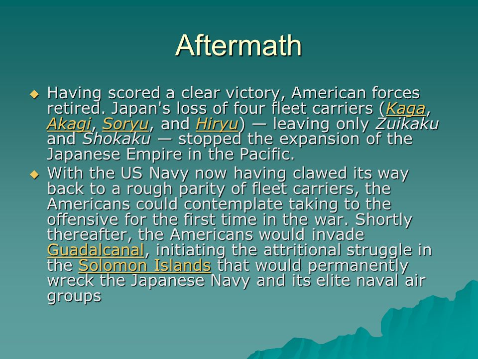 Aftermath  Having scored a clear victory, American forces retired.