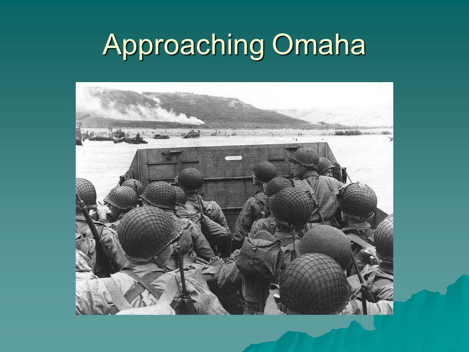 Approaching Omaha