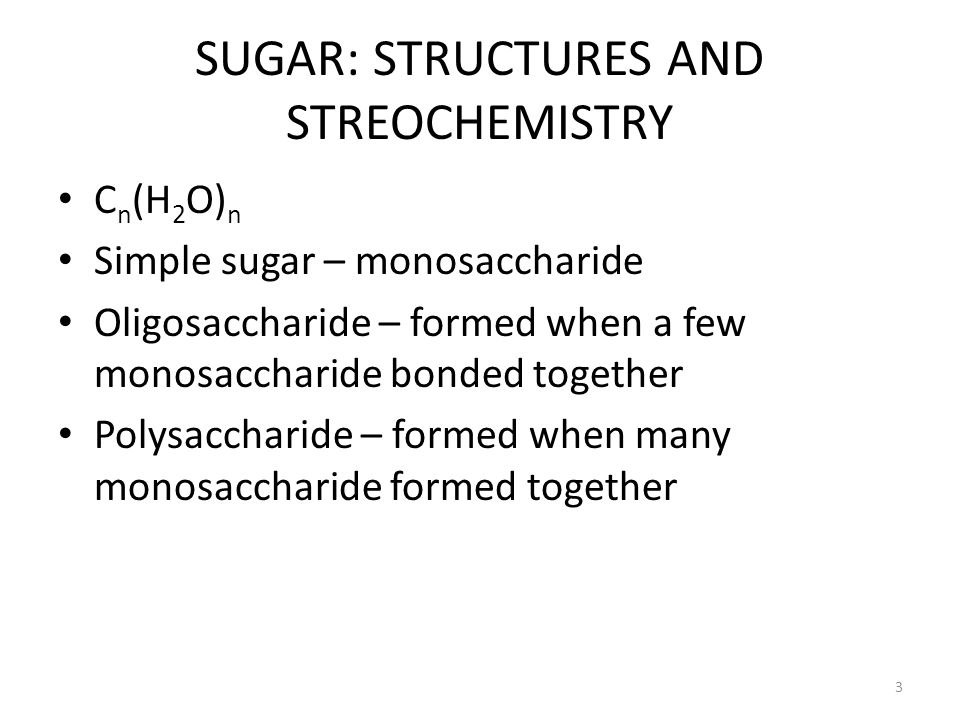Other disaccharides include:  Sucrose, common table sugar, has a glycosidic bond linking the anomeric hydroxyls of glucose & fructose.