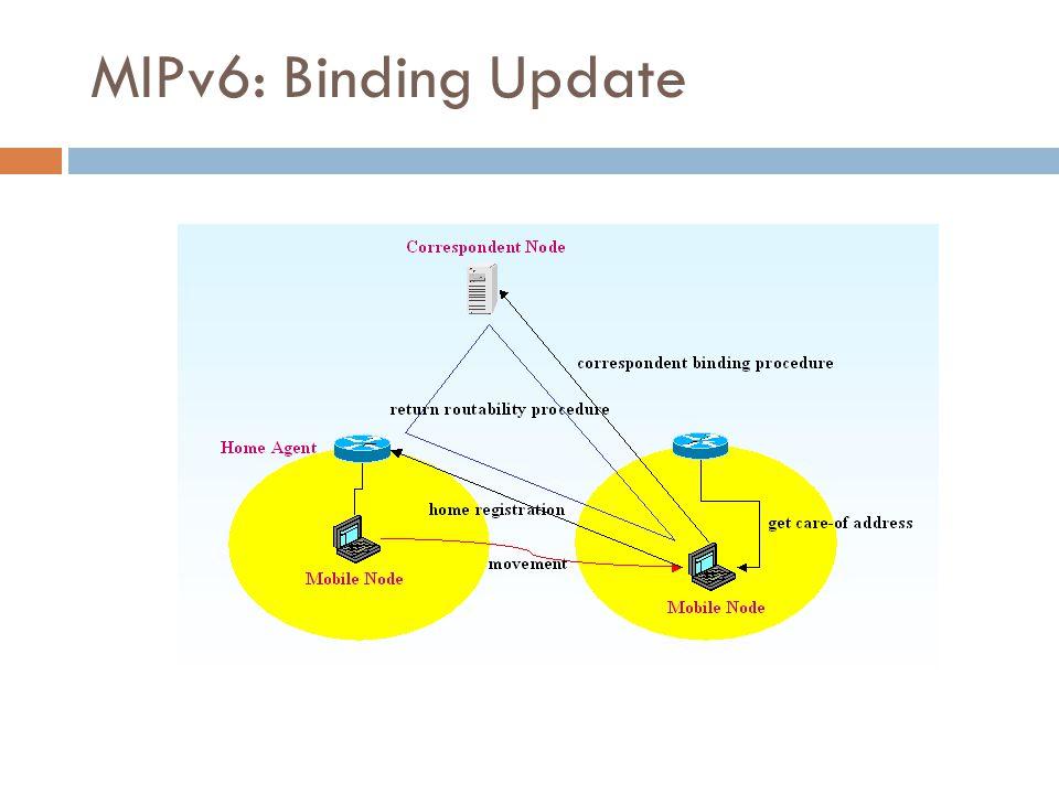 MIPv6: Binding Update 28/50