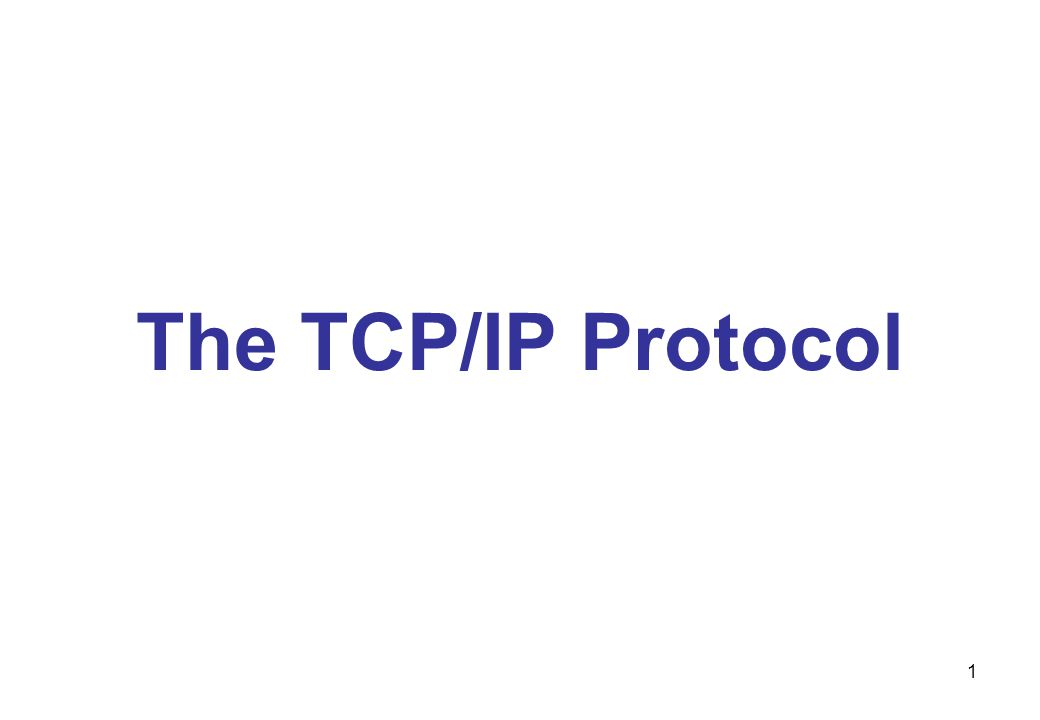 2 Introduction To TCP/IP Transmission Control Protocol/Internet Protocol (TCP/IP) –Most commonly used network protocol suite today –Wide vendor support –Open protocol –Provides access to Internet services Windows Server 2003 –Can use several protocols –Many of its main features require the use of TCP/IP