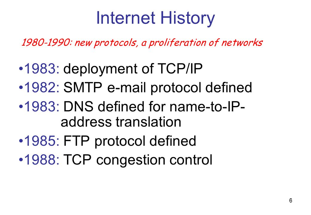 57 The first decimal value defines the class of the IP address as follows: