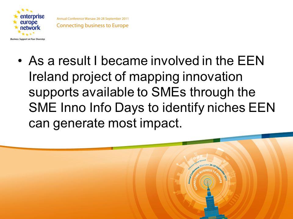 Dziekuje za uwage Name: Eoin Costello Organisation: www.eoincostello.ie email:eoincostello@gmail.com Linkedin: Eoin Killian Costello