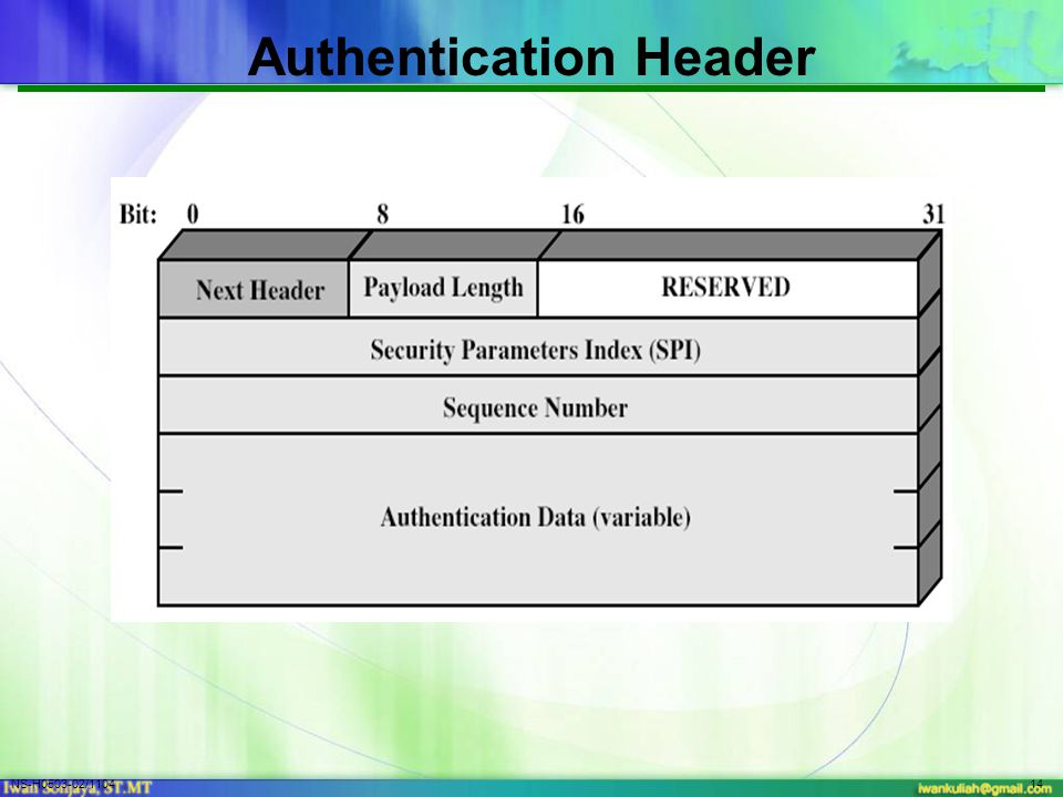 NS-H0503-02/110414 Authentication Header