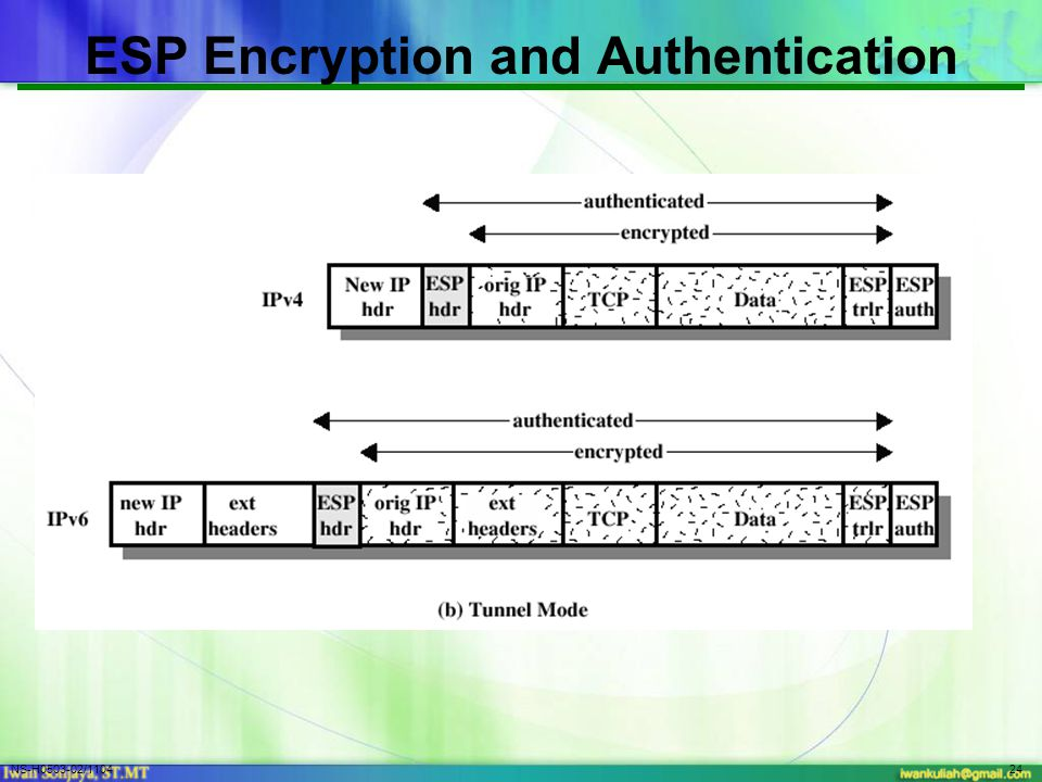 NS-H0503-02/110424 ESP Encryption and Authentication