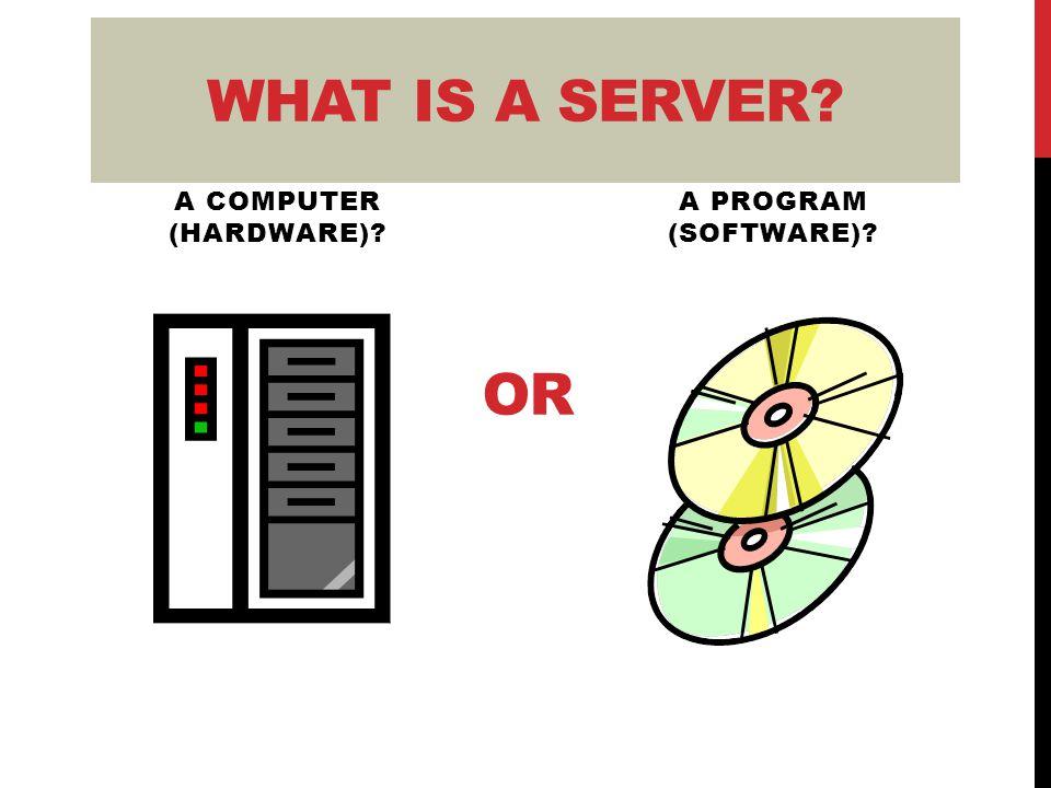 SERVERS VS. PCs