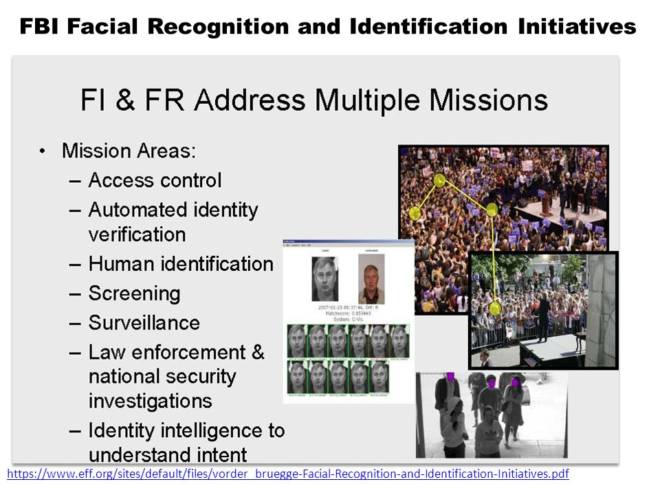 FBI Facial Recognition and Identification Initiatives https://www.eff.org/sites/default/files/vorder_bruegge-Facial-Recognition-and-Identification-Initiatives.pdf