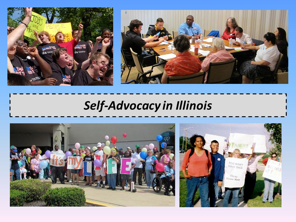 Self-Advocacy in Illinois