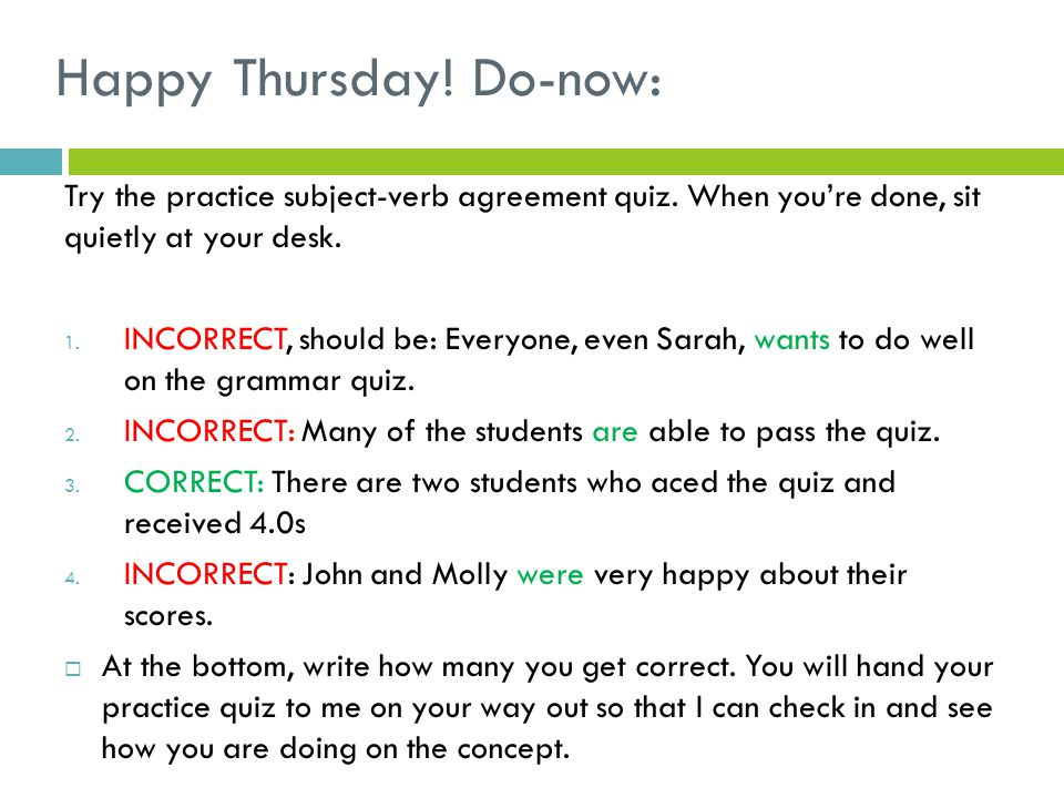 Begin working on your own thesis statement…  I will come around to check how you're doing on your thesis statements.