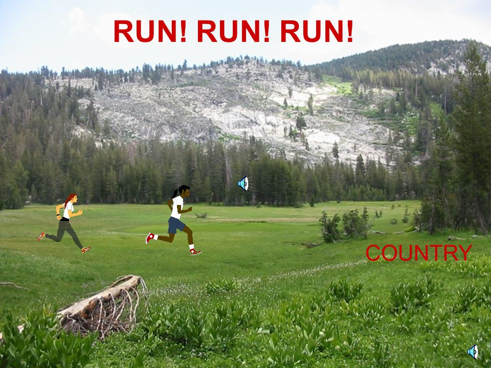 RUN! RUN! RUN! COUNTRY