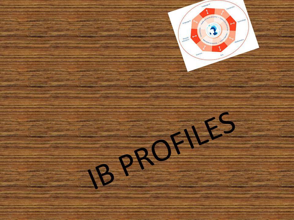 IB PROFILES