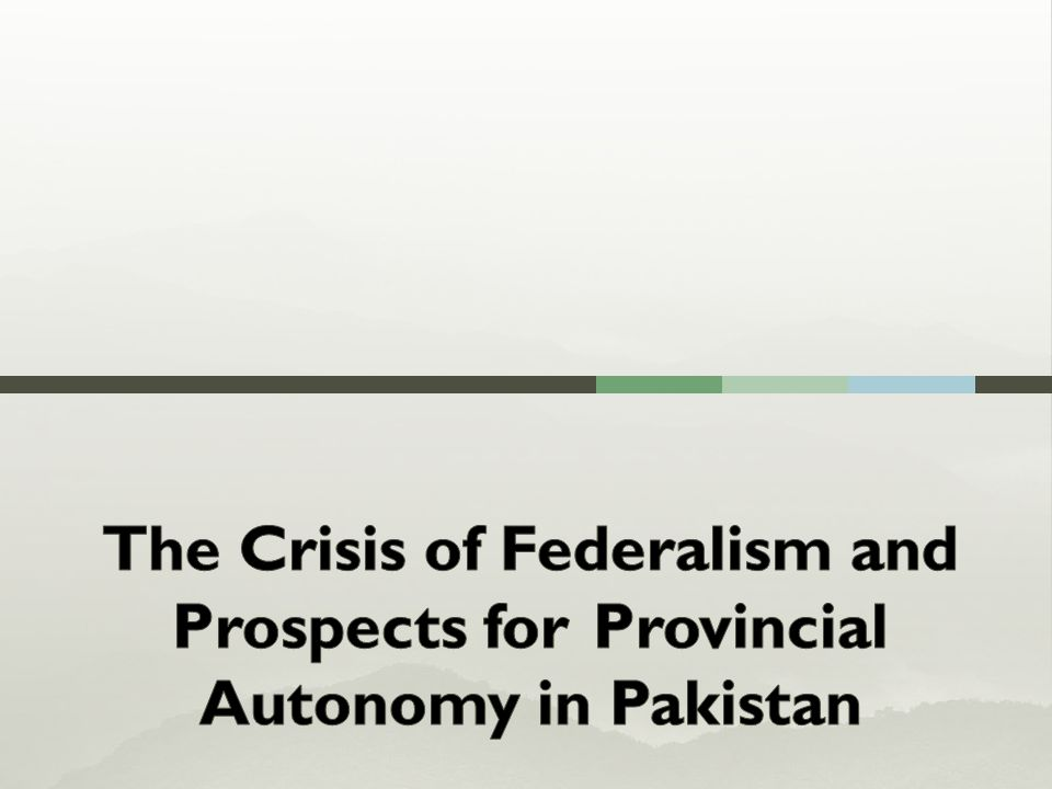  Part I: Introduction and Historical Context  Part II:Issues of Federalism  Part III:Recommendations 3
