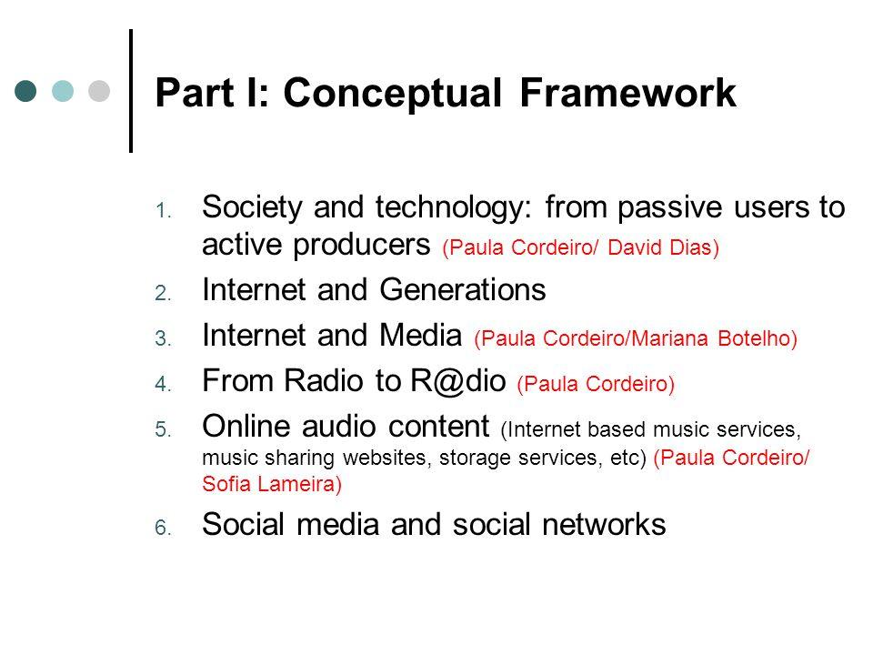 Part I: Conceptual Framework 1.