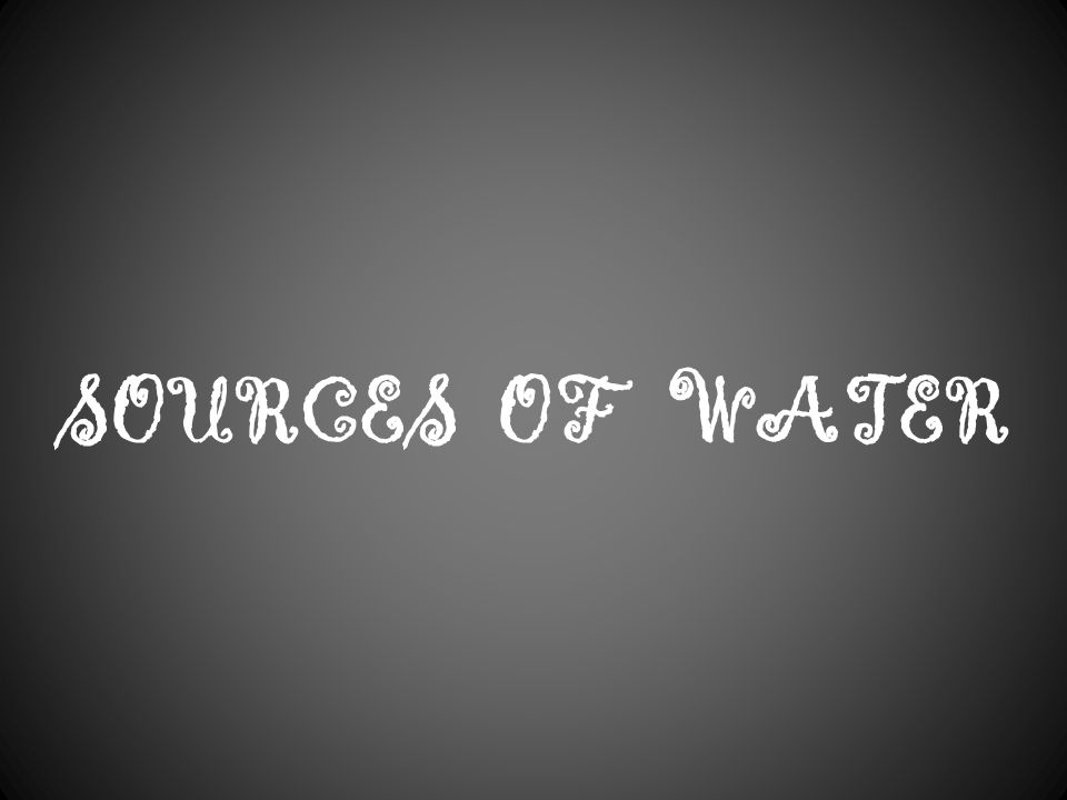 Class: III Lesson-3 Water o' water!