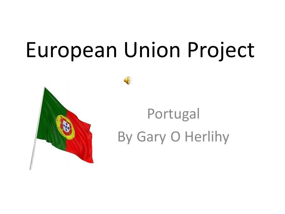 European Union Project Portugal By Gary O Herlihy