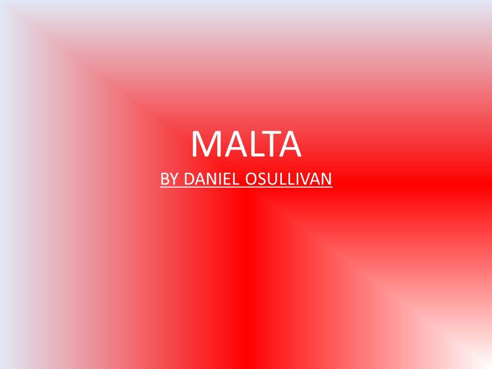 MALTA BY DANIEL OSULLIVAN