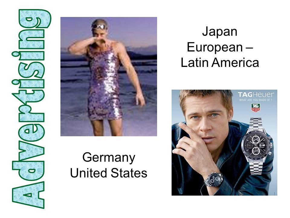 Japan European – Latin America Germany United States