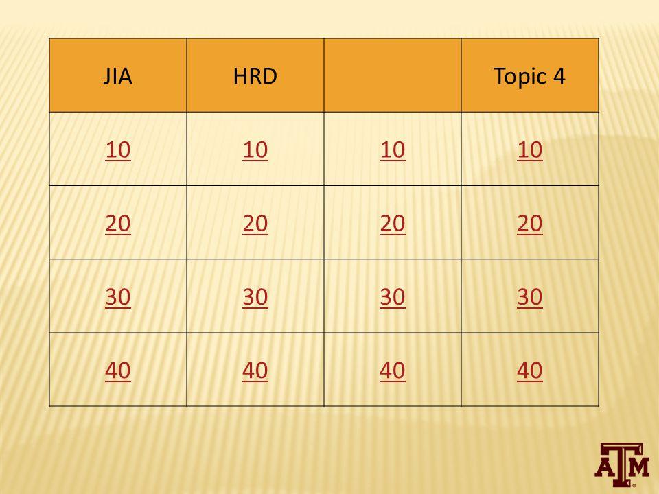 JIAHRDTopic 4 10 20 30 40
