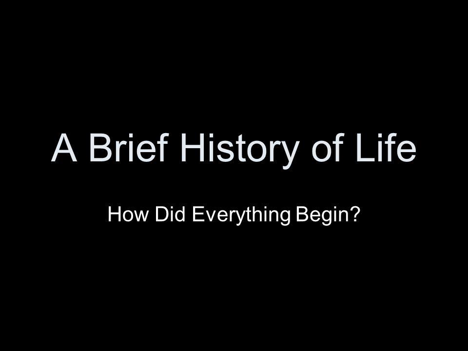 Intelligent Design Theories (Creation Myths)
