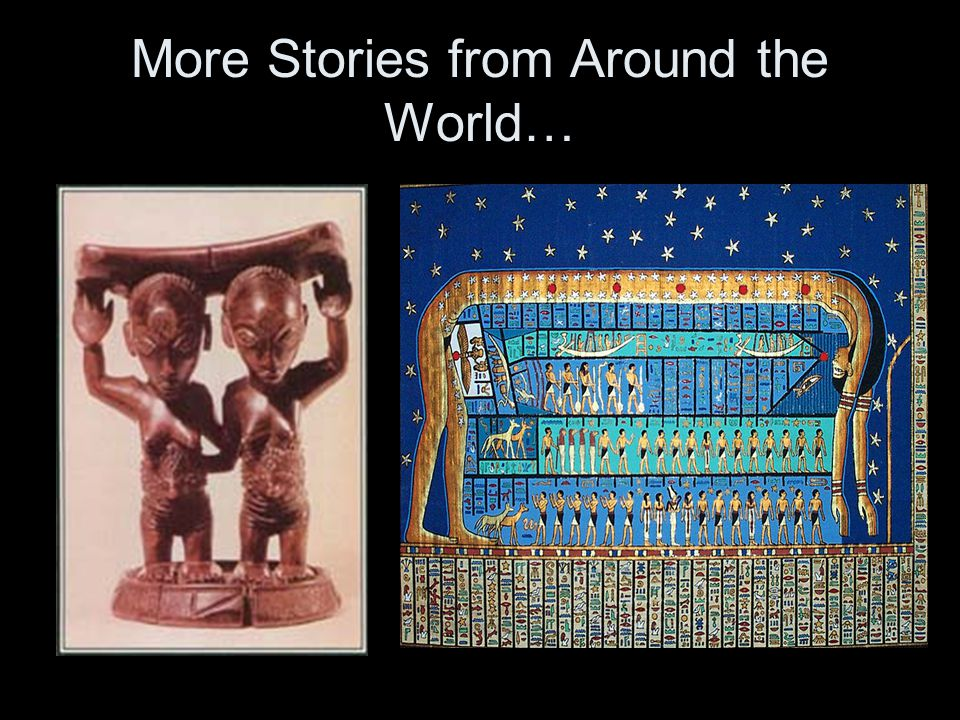 …on how the world began…
