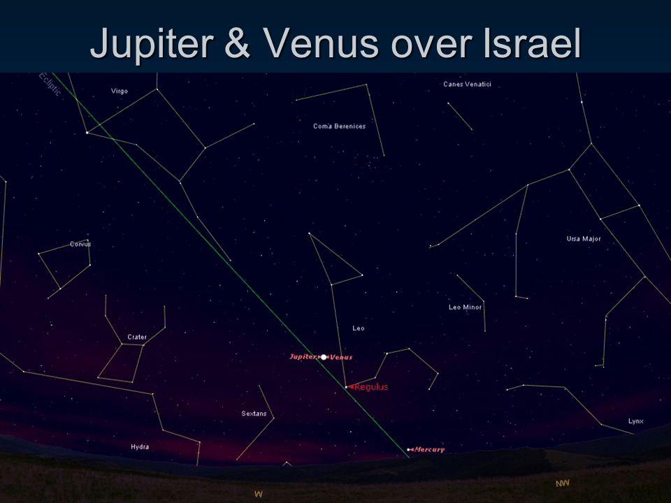 Jupiter & Venus over Israel