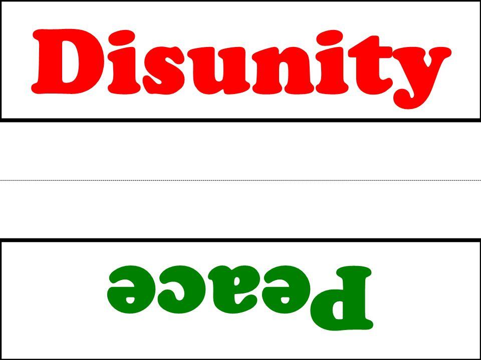 Disunity Peace