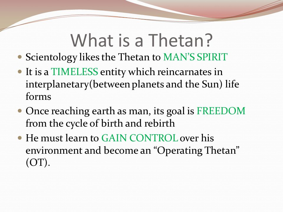 What is a Thetan.