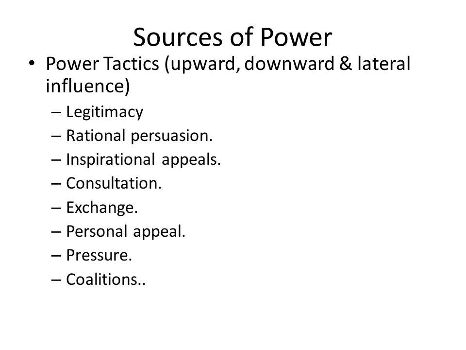DEPENDENCY FACTOR  Dependency is key element in study of power.