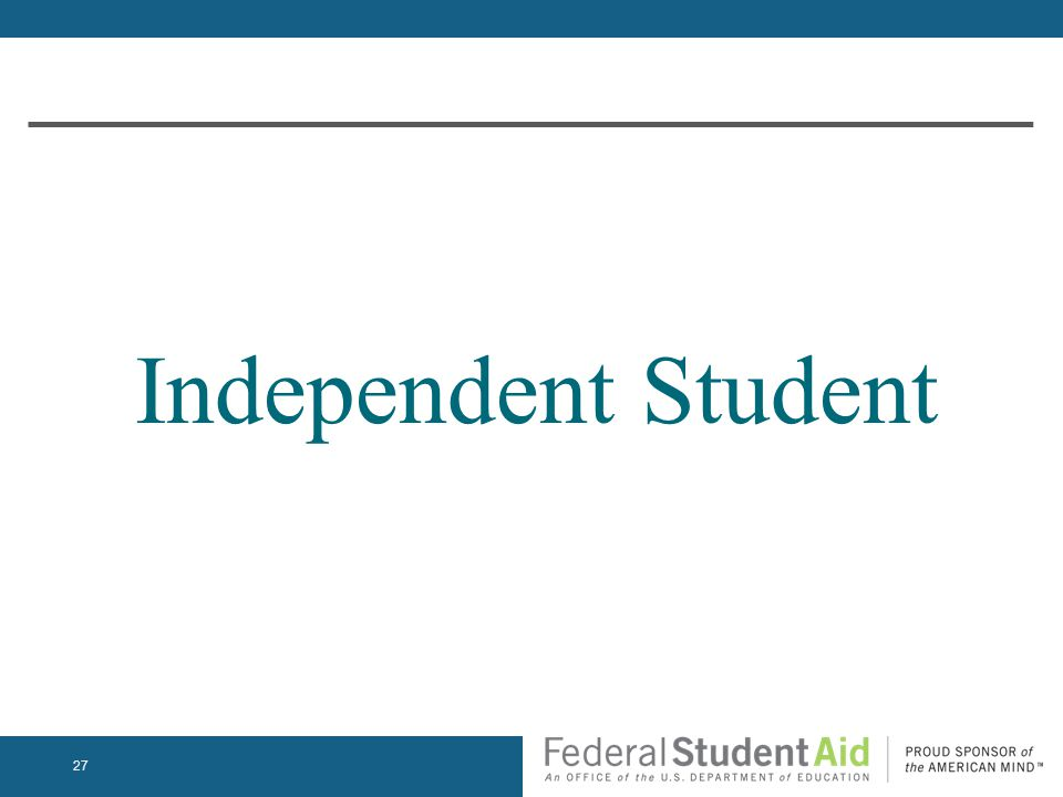 Independent Student 27