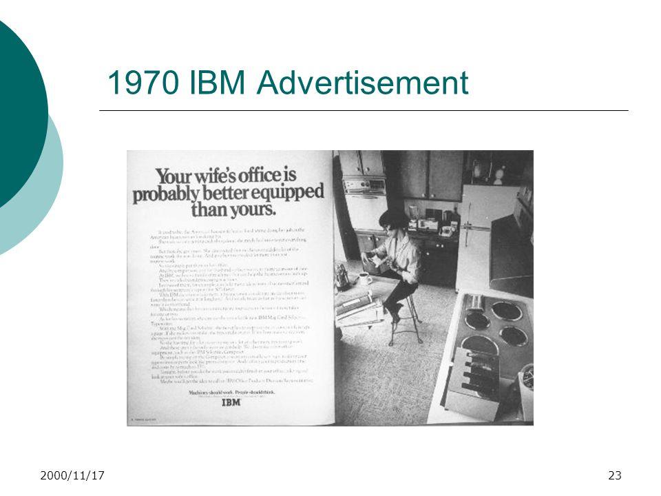 2000/11/1723 1970 IBM Advertisement