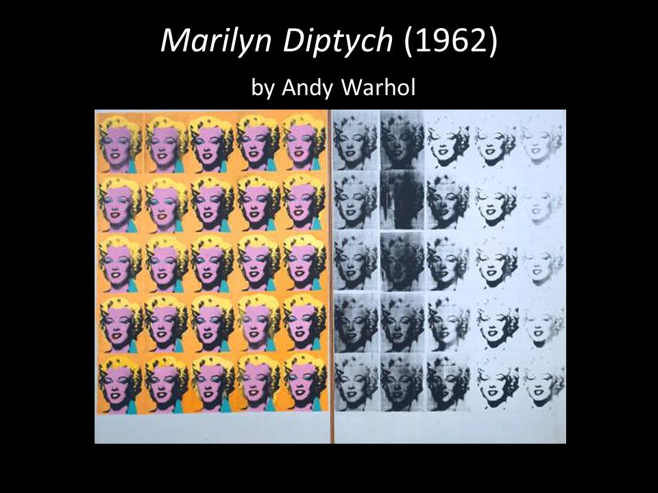 Marilyn Diptych (1962) by Andy Warhol