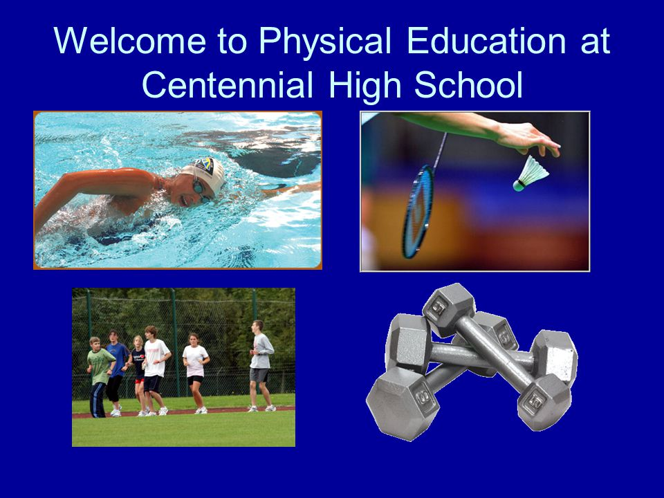 Physical Education Department Procedures