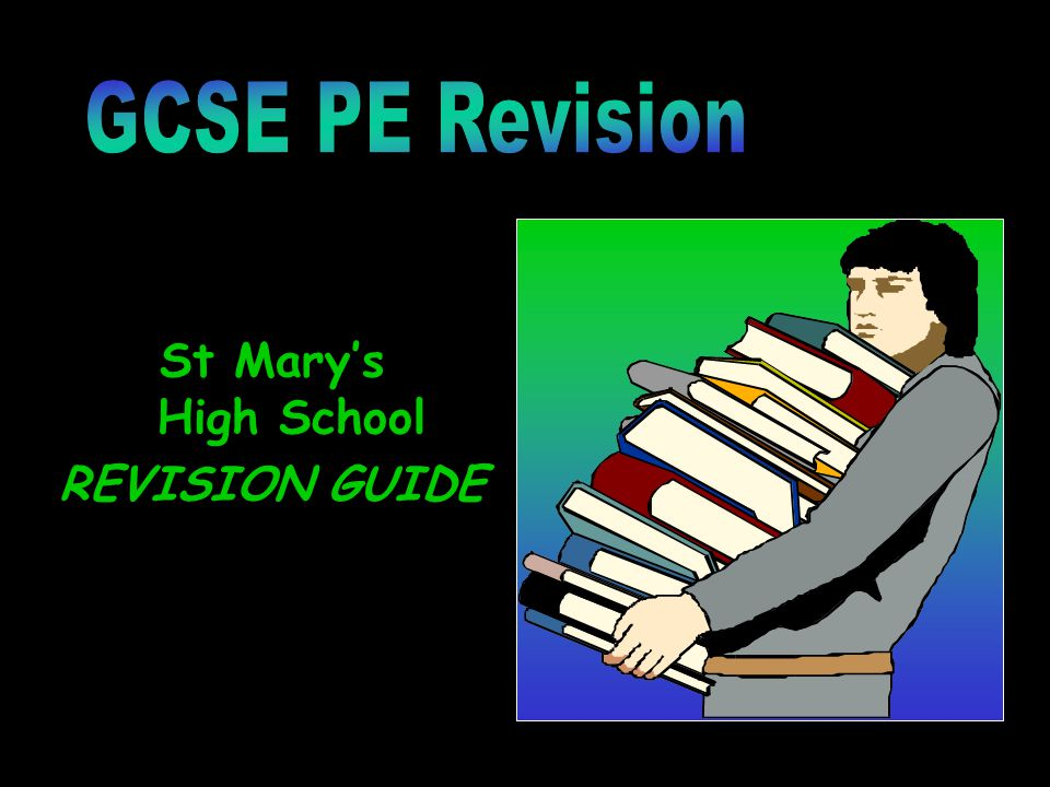 St Mary's High School REVISION GUIDE