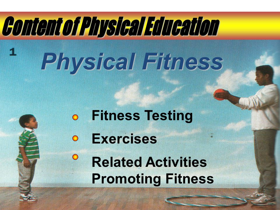 Physical Fitness Fitness Testing Exercises Related Activities Promoting Fitness