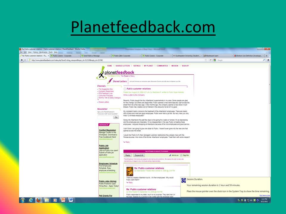 Planetfeedback.com