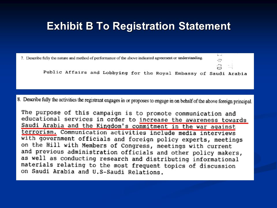 Exhibit B To Registration Statement