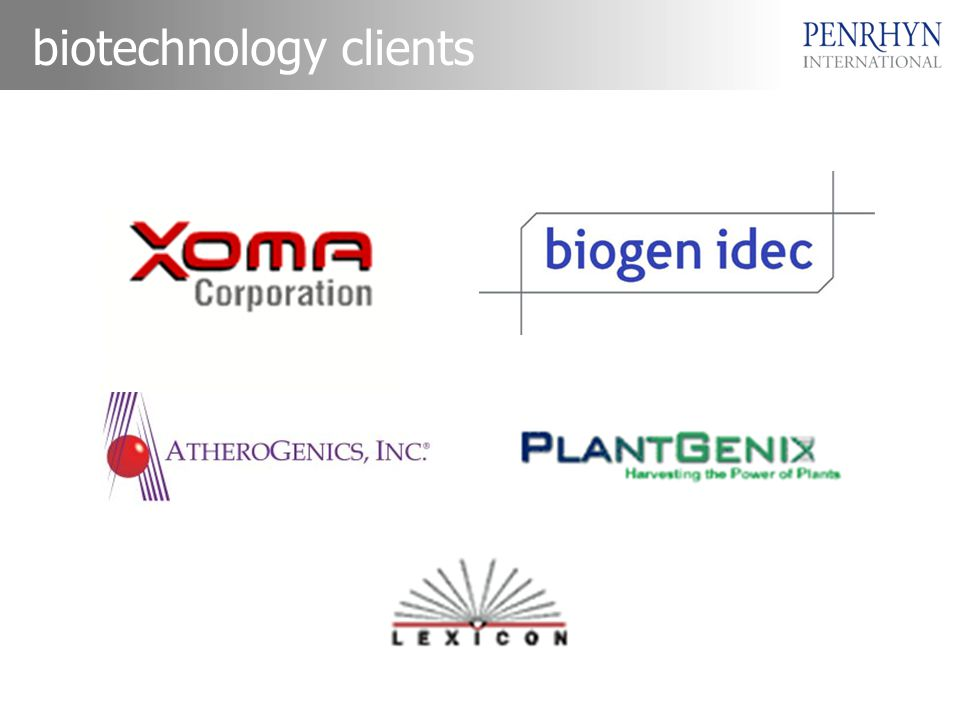 biotechnology clients
