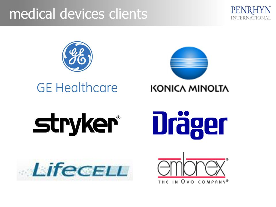 medical devices clients