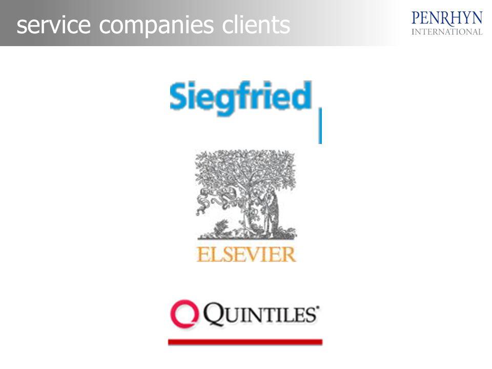service companies clients