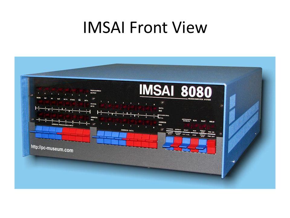 IMSAI Front View