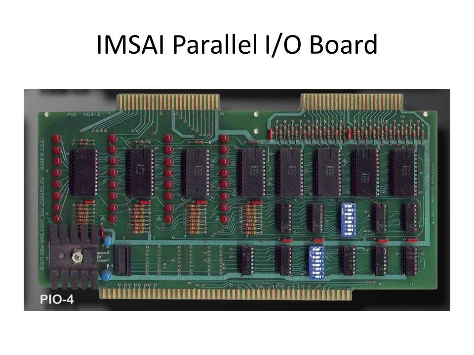 IMSAI Parallel I/O Board