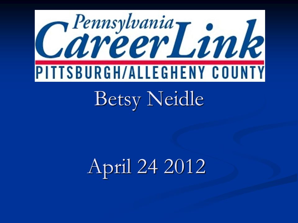 April 24 2012 Betsy Neidle